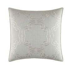 NEW Tommy Bahama Heirloom White Embroidered 18X18 Pillow - MSRP $67