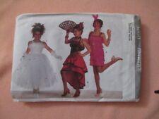 Butterick 3660 Girls Costume Gatsby Princess Senorita All Sizes Uncut