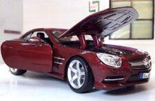 Coches, camiones y furgonetas de automodelismo y aeromodelismo Burago, Mercedes de escala 1:24