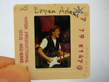 More details for original press promo slide negative - bryan adams - 1980's - b