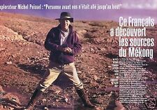 Coupure de presse Clipping 1994 Michel Peissel (6 pages)
