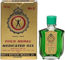 Gold Medal Medicated Oil (for headache,blocked nose) 10ML (original)