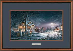 Winter Wonderland Framed Encore Print by Terry Redlin