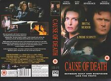 Cause Of death, Patrick Bergin Video Promo Sample Sleeve/Cover #10643