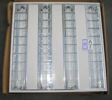 Philips Lámparas de Techo Empotradas Lámpara para Oficina TBS165 G 4xTL5-14W/840