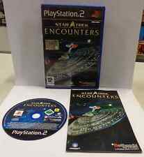 Console Gioco Game SONY Playstation 2 PS2 PAL Play STAR TREK ENCOUNTERS Bethesda