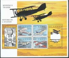 [36128] SUP||**/Mnh || - NN- BL195 - Histoire de l'aviation - Bloc Redwing II Tr