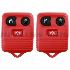 2 Keyless Entry Remote for Ford CWTWB1U212 CWTWB1U331 GQ43VT11T CWTWB1U345 Red
