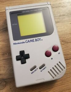 Nintendo Game Boy Original DMG-01 Excellent Condition New Screen