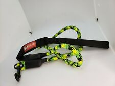 Pet supplies leash rope nylon reflective round rope foam handle  large dog leash