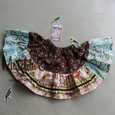 Matilda Jane Girls Size 8 Platinum Mollly Skirt-Rare New