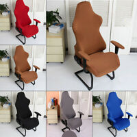 1xComputer Stretch Swivel Racing Gaming Chair Slipcover Armchair Seat Cover