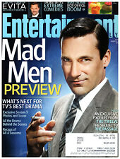 Entertainment Weekly Magazine March 16 2012 Jon Hamm Mad Men Adam Scott