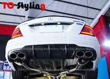 Carbon Fiber Rear Diffuser C63 Style For Mercedes Benz W204 LCI Facelift Sedan