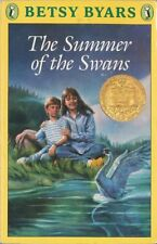 The Summer of the Swans by Betsy Byars (1970 1981 Hard Back Cover)
