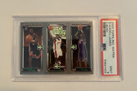 2003-04 Topps Rookie Matrix LeBron James / C. Bosh / Dwayne Wade PSA 9 MINT #WJB