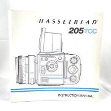 New listing Hasselblad 205Tcc Instruction Manual Original 1991