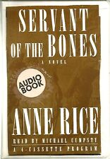 """Audiobook by Anne Rice """"Servant of the Bones"""" Abridged on 4 Cassettes"""