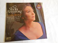 SHEILA ARMSTRONG: LIEDER RECITAL - Schubert; Brahms; Wolf; Strauss
