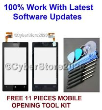 Para Nokia Lumia 520 Repuesto Pantalla Lcd Táctil Digitalizador de Cristal Frontal + Marco