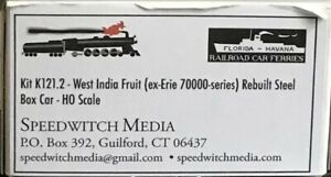 Speedwitch WIF (Ex Erie) rebuilt Erie boxcar kit Kit No. 121.2