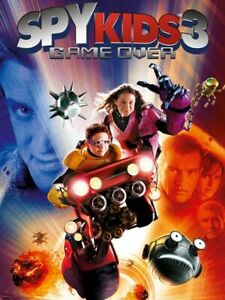 Spy Kids 3D - Game Over | DVD Region 4 (PAL) (Australia) Free Post