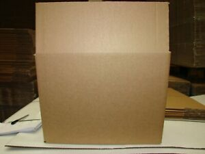 STRONG SINGLE WALL BOX FOR 4 X 5 Ltr CONTAINERS 372 X 268 X 285mm MULTI LISTING