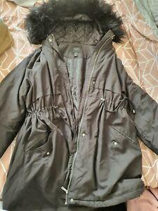 New look Maternity winter coat Size 18