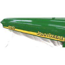 John Deere 4610 hood trim strip set decals LVU12291 LVU12292