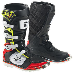 GAERNE SGJ RED/YELLOW KIDS MX BOOTS, MOTOCROSS, ENDURO, OFF ROAD BOOTS