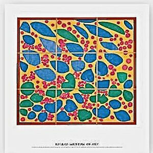 Henri Matisse IVY IN FLOWER POSTER Museum Store Sold Out 27 1/2 x 24 NOS