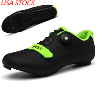 Cycling Shoes Men Self-locking SPD-SL Cleat Road Bike Shoes MTB Bicycle Sneakers