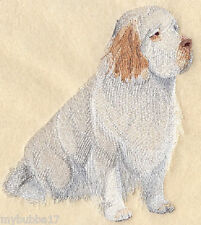 Clumber Spaniel New Design Set Of 2 Bath Hand Towels Embroidered By Laura