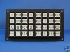 Knight Rider Upper Console COM Keypad - Black and White