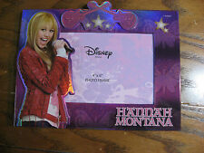 "Disney's Hanna Montana - Miley Cyrus Picture Frame- 4"" x 6"" Photo Frame/ Plastic"