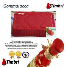 Gommalacca per capsule bottiglie ROSSO Ceralacca soft non si sbriciola