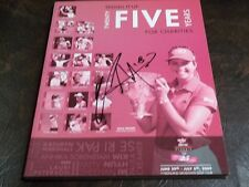 SE RI PAK SIGNED 2009 JAMIE FARR CLASSIC PROGRAM