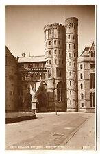 College Entrance - Aberystwyth Photo Postcard c1910