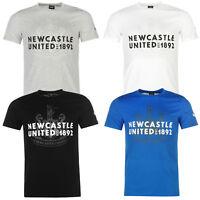 Puma Herren T-Shirt Newcastle Logo Tee Shirt Kurzarm NUFC Logo S M L XL 2XL