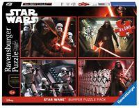 PUZZLE STAR WARS RAVENSBURGER 06850 4x100 Piezas Pieces Star Wars Disney Jigsaw