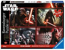 PUZZLE STAR WARS RAVENSBURGER 06850 4x100 Piezas Pieces Star Wars Disney Jigsaw