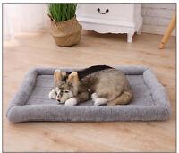 Hundebett Katzebett Plüsch Flauschige Haustier Hund Nest Kissen Weiches Waschbar
