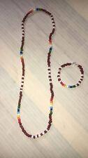 Eleke (necklace) y Ilde (bracelet) de Agayu, Santeria, Yoruba, Lucumi