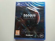 MASS EFFECT: ANDROMEDA PLAYSTATION 4 PLAY 4 PS4 PRECINTADO SEALED