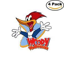 Woody Woodpecker 4 Stickers Cartoon Window Sticker Decal 4X4_9