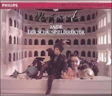 Mozart: Za‹de; Die Schauspieldirektor (CD, Oct-1991, 2 Discs, Philips)