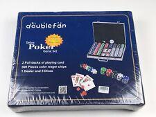 Doublefan Poker Chips Deluxe Set 500pcs 2 Full Decks