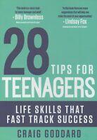 28 Tips for Teenagers Life Skills Fast Track Success C Goddard KIDS Book
