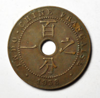 1938 A French Indo-China Copper Large Cent KM# 12.1 Paris Mint