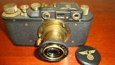Russian Leica Copy Luftwaffe WW2 Vintage 35MM Camera SN20334, Exc Condition